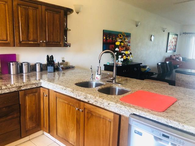 Newly renovated kitchen with dishwasher