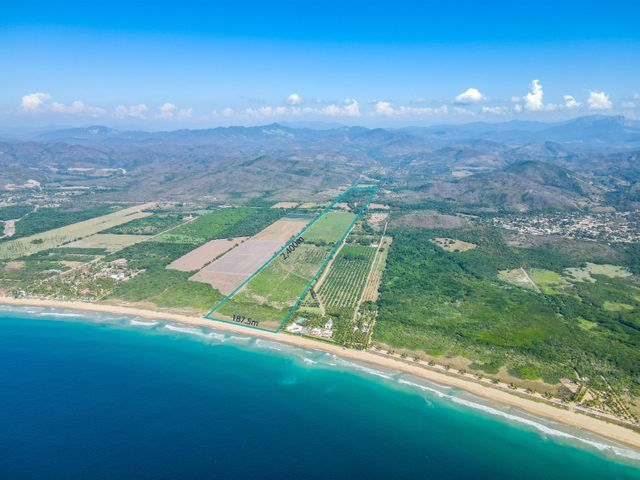 Ocean Front Lot Bahia Chamela