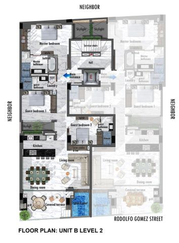 182 Rodolfo Gomez 2b, D'residences