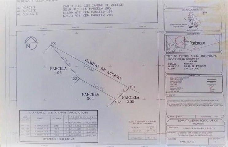 Parcel 197 San Vicente, Predio Tondoroque Pancho