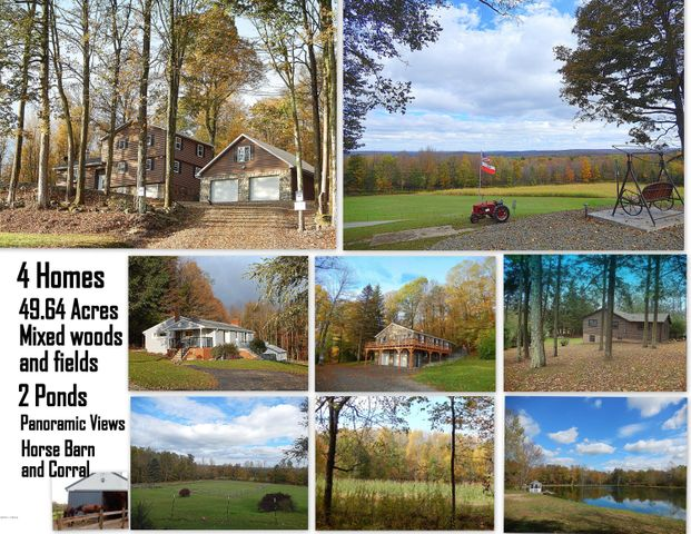 50 Acre Paradise In The Heart Of Sterling, PA.