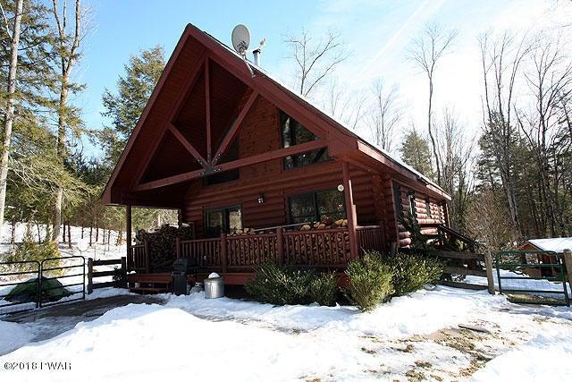 Gorgeous true log home