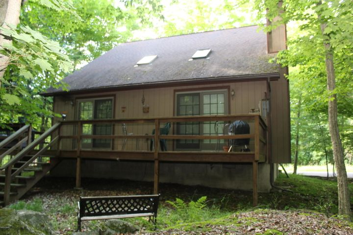 Set to take full advantage of wooded views