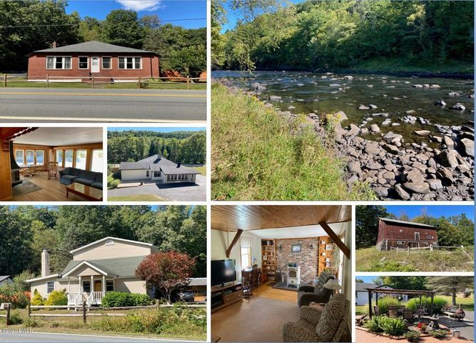 2 Homes Riverfront on 17.4 Acres