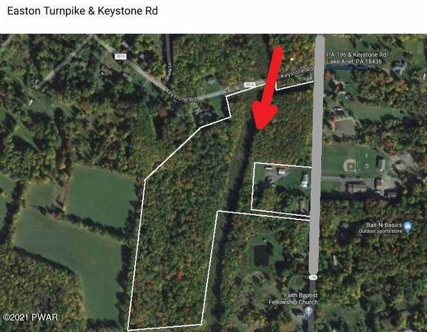 Easton Tpk. & Keystone RD., Lake Ariel, PA 18436