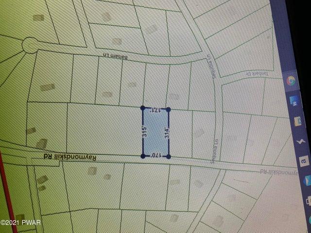 Lot 1589 Raymondskill Rd Rd, Milford, PA 18337