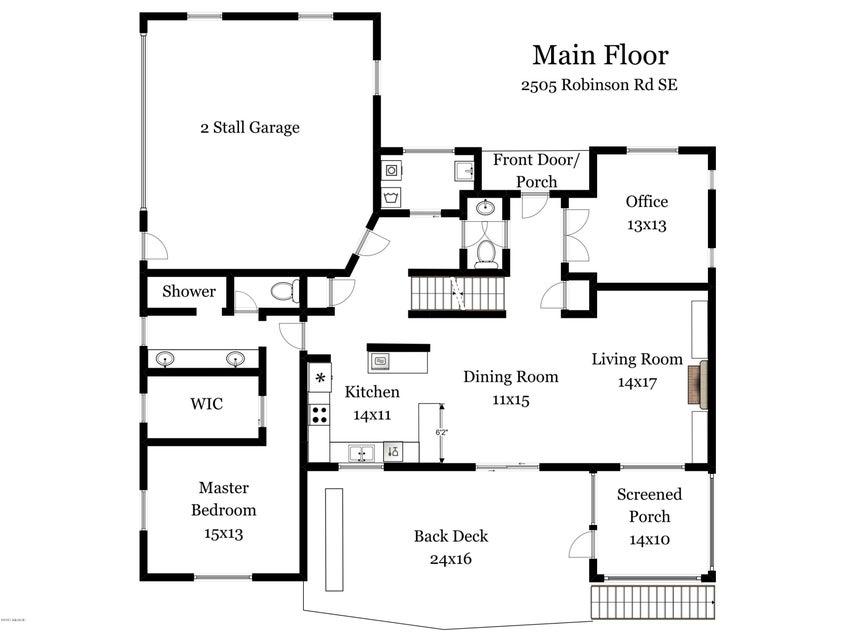 2505 Robinson Rd Main Floor