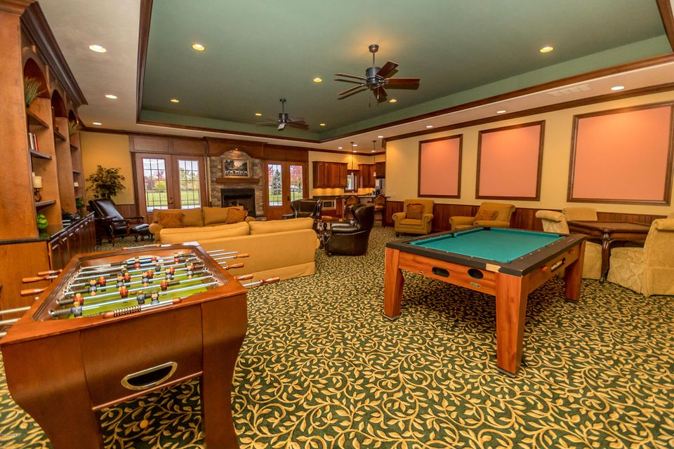 Kensington Park Circle Holland MI SOLD LISTING MLS - Kensington pool table