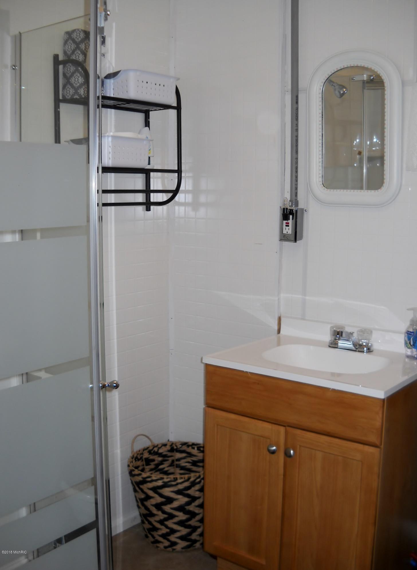 Bath - shower & sink