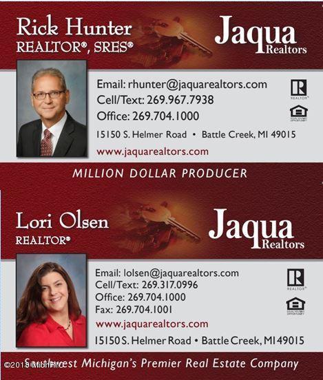 Olsen-Hunter Team Business Cards