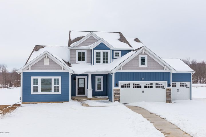 Photo is of actual Move In Ready New Construction. Immediate occupancy at closing.
