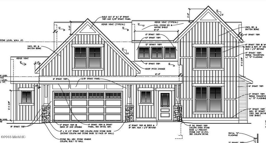 Architectural rendering of home