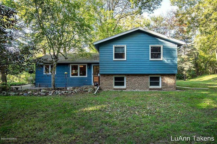 Gorgeous home setting on a peaceful private setting of 3.58 acres!