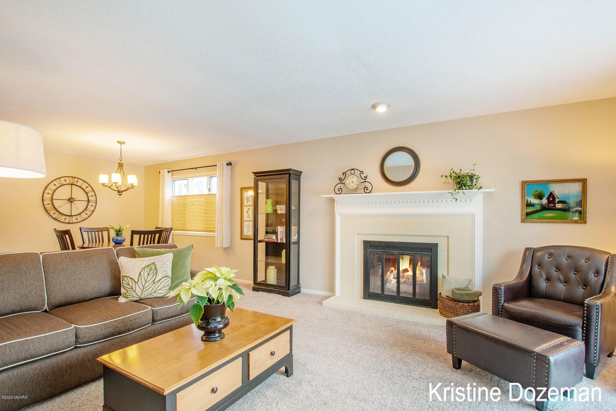 Spacious inviting living area!
