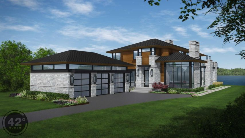 Engelsma Homes and 42 North Architecture & Design present this dynamic new build on Reeds Lake