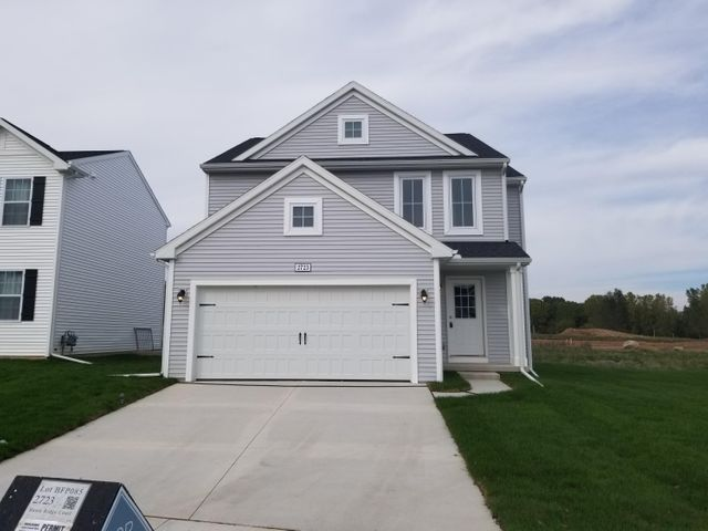 Move In Ready! New construction features over 1,900 sqft, 3 bedrooms and 2.5 baths.