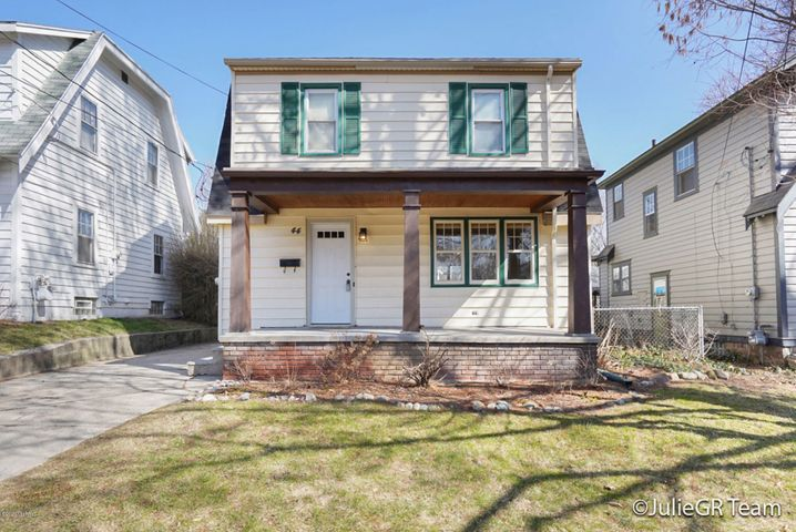 Welcome home!  Centrally located in Fulton Heights which means easy access to the highway and downtown and walkable to the Farmer's Market and great restaurants.  This home has all the charm of a turn of the century home like hardwood floors (recently refinished) and arched doorways but at the same time boasts a newly remodeled kitchen and bath, new high efficiency furnace, new central air conditioning unit, and new roof.  The yard is great for entertaining as it features professional landscaping and an oversized deck.  Enjoy! Any and all offers to be submitted by Monday, March 23 at 12:00pm.