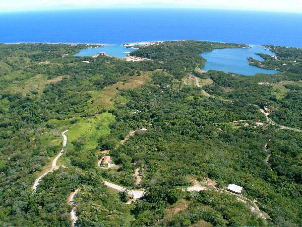 16 Acres below Cals Cantina, Roatan,