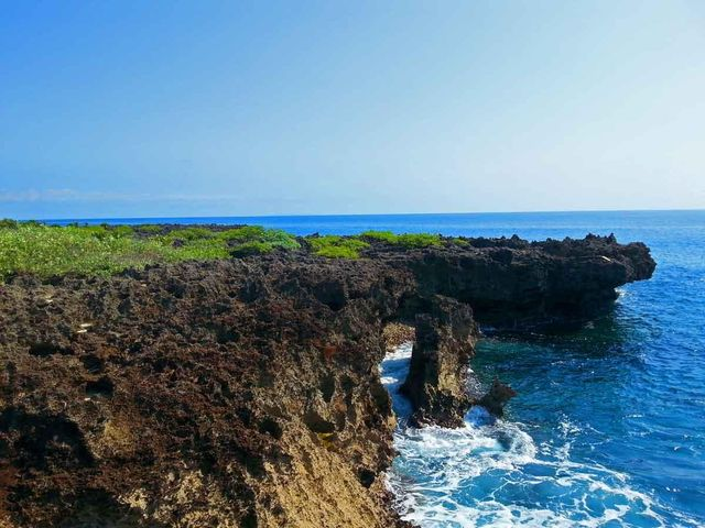 This spectacular cove is just steps away.