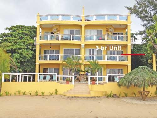 Villa del Playa 285K, 3br BEACHFRNT, Roatan,