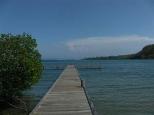 WITH DOCK -MARIPOSA, RARE FIND DEEP WATERFRONT, Roatan,