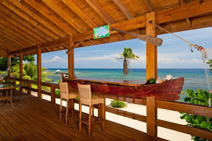 Escondida, Beachfront Home - Casa, Roatan,