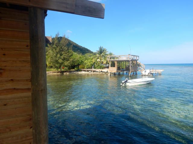 Southeast Cooling Tradewinds, Waterfront lots with dock, Roatan,