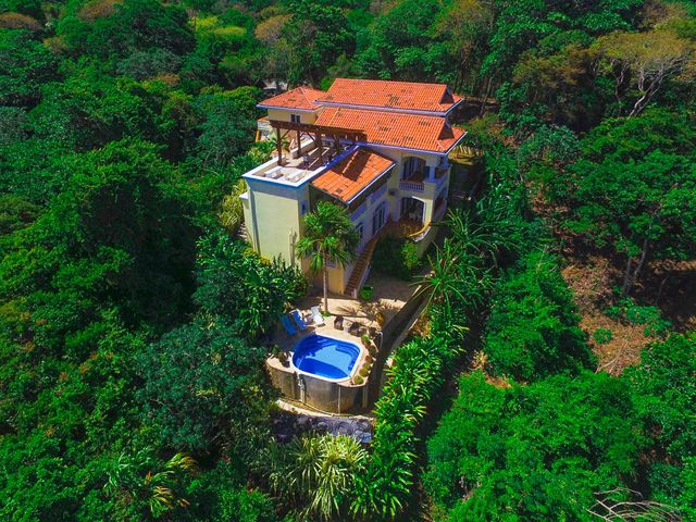Aerial View of Villa Delfin