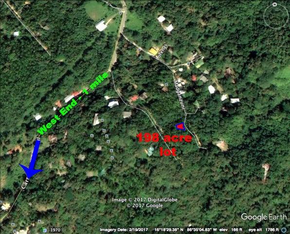 from West End, .198 Acre Lot Short Distance, Roatan,