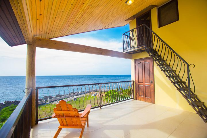 Enjoy the stunning ocean views in the penthouse condo