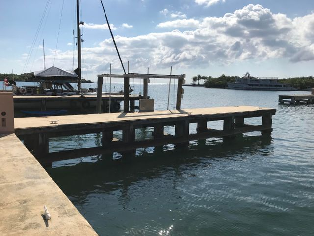 Parrot Tree Marina C Dock, Marina Slip C9, Roatan,