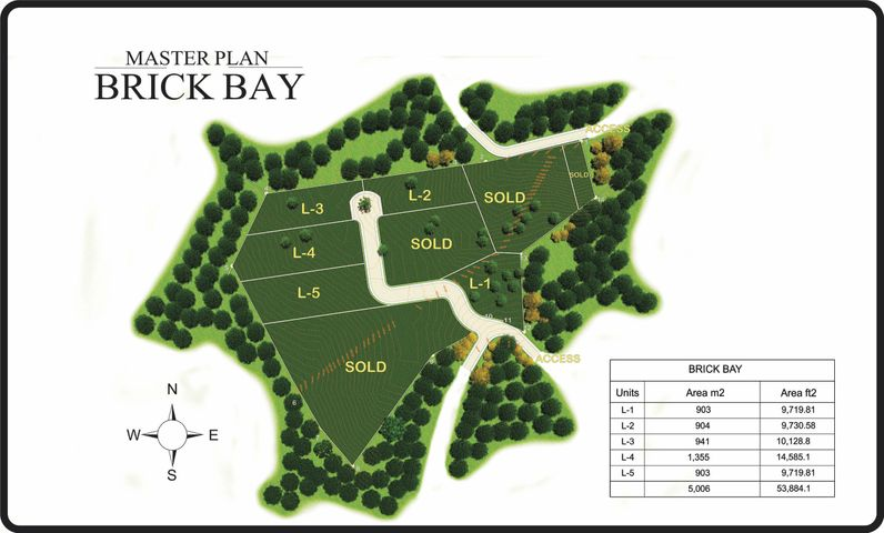 Brick Bay Road, Brick Bay Lot #1, 903 SM, Roatan,