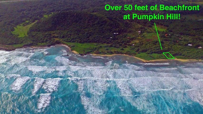 Exceptional lot - Pumpkin Hill, Beachfront Bargain!, Utila,
