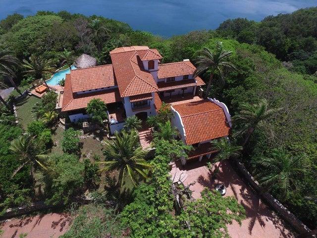 Aerial of Casa Dos Bahias