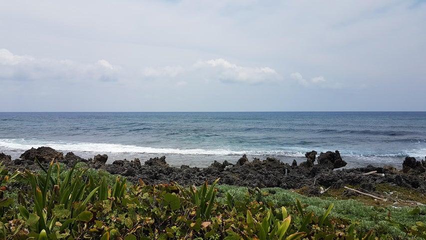 Stunning views of the Caribbean ocean