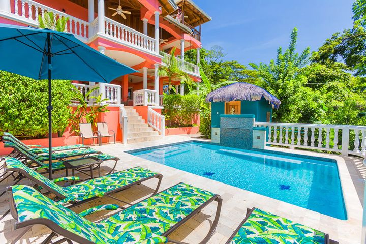 West Bay, Seaside Inn, Roatan,