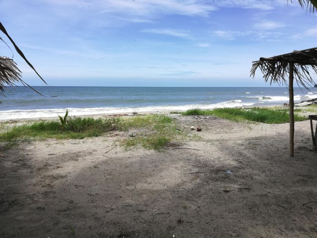Barrio Lempira on the beach, Beach Front 0.25acre in Tela, Mainland,