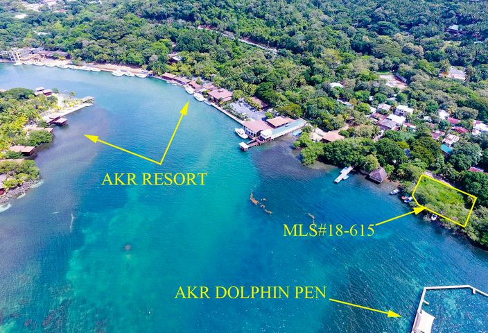 Protected Frontage, Sandy Bay- Deep Water, Roatan,