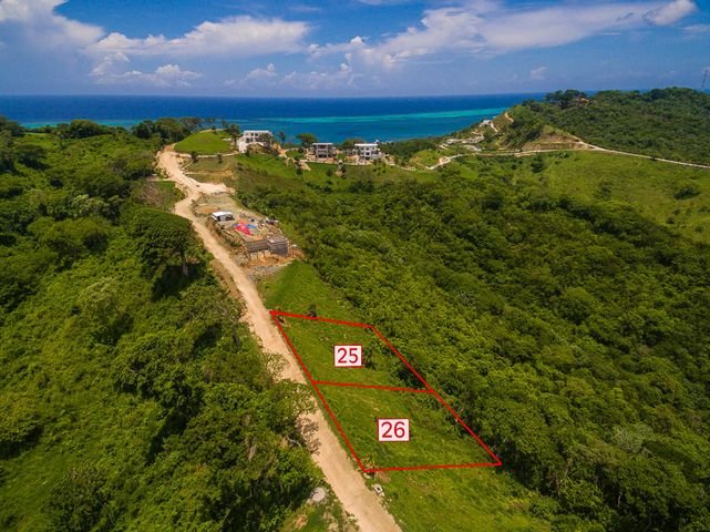 White Hills lot 26 is the only one being sold in this listing - aerial view of the lot.