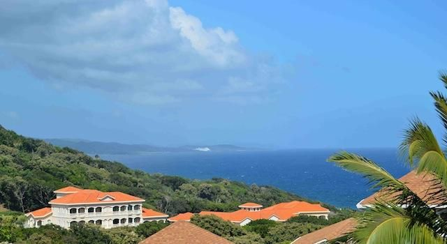 Bay and Mainland, Beautiful Lot Overlooking West, Roatan,