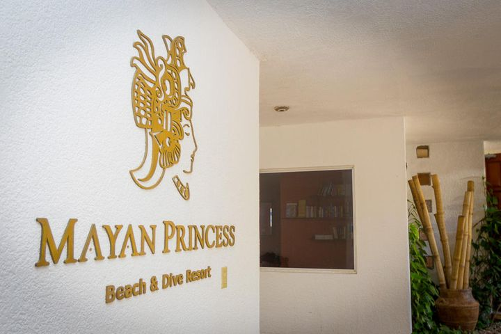 Entrance to the main lobby in Mayan Princess