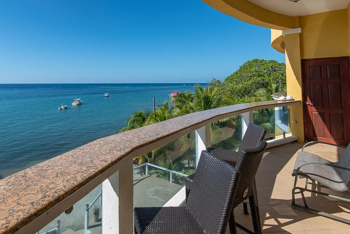Endless ocean views from Villas Del Playa #5.