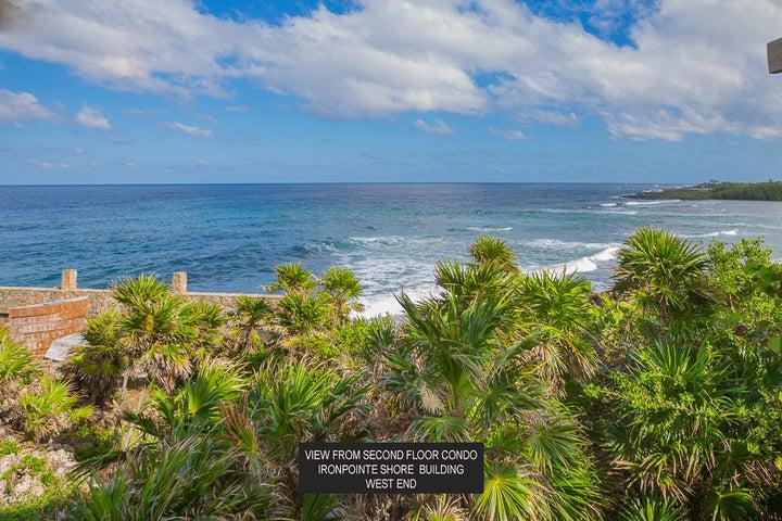 Stunning views of the Caribbean Sea