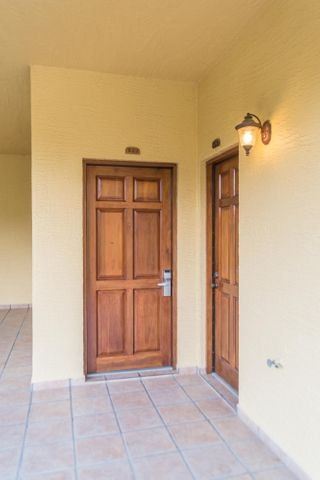 Entrance to the condo 922. This condo can be rented as a 2 bedroom, a 1 bedroom or a hotel room.