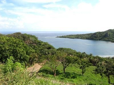 Cooling breezes from the rolling verdant hills with views of the bay out to the Caribbean Sea.