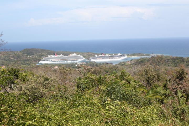 Brazil Hill, Ocean view Lot, Roatan,