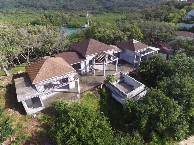 Villa Corazon is a partially completed home.
