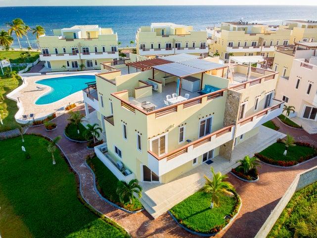 at Las Palmas Residences, Beachside 3 Bedroom Villa 340, Roatan,