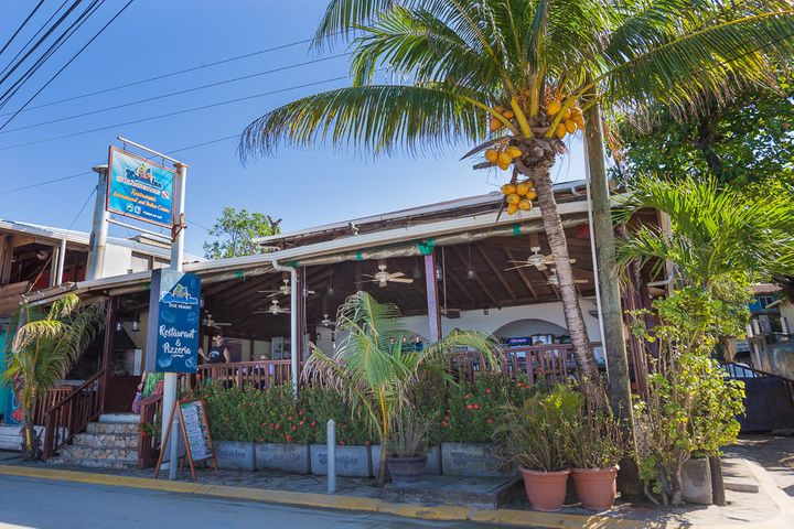 Splash Inn has its own restaurant that sits directly on main street in West End.
