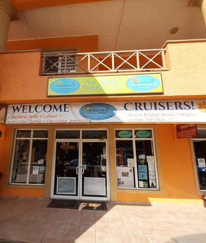 Shop front in key location within West Bay Mall.
